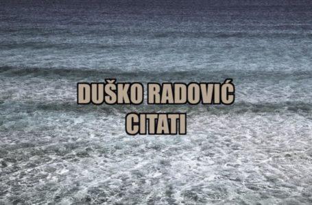 Citati Duška Radovića