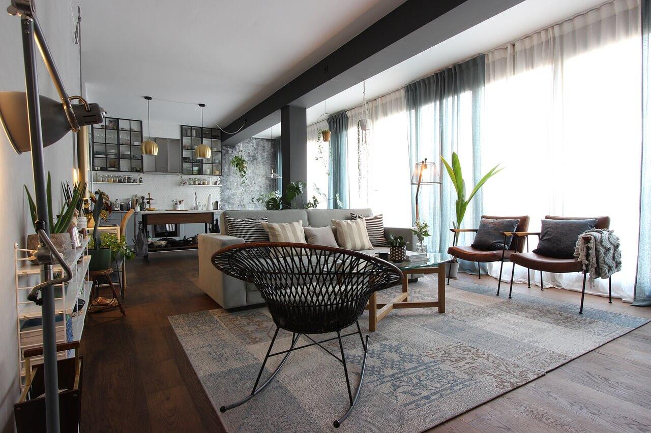 Dnevna soba open space koncepta