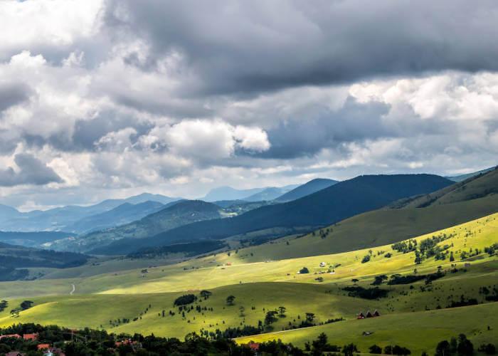 Prostranstvo i proplanci Stare planine