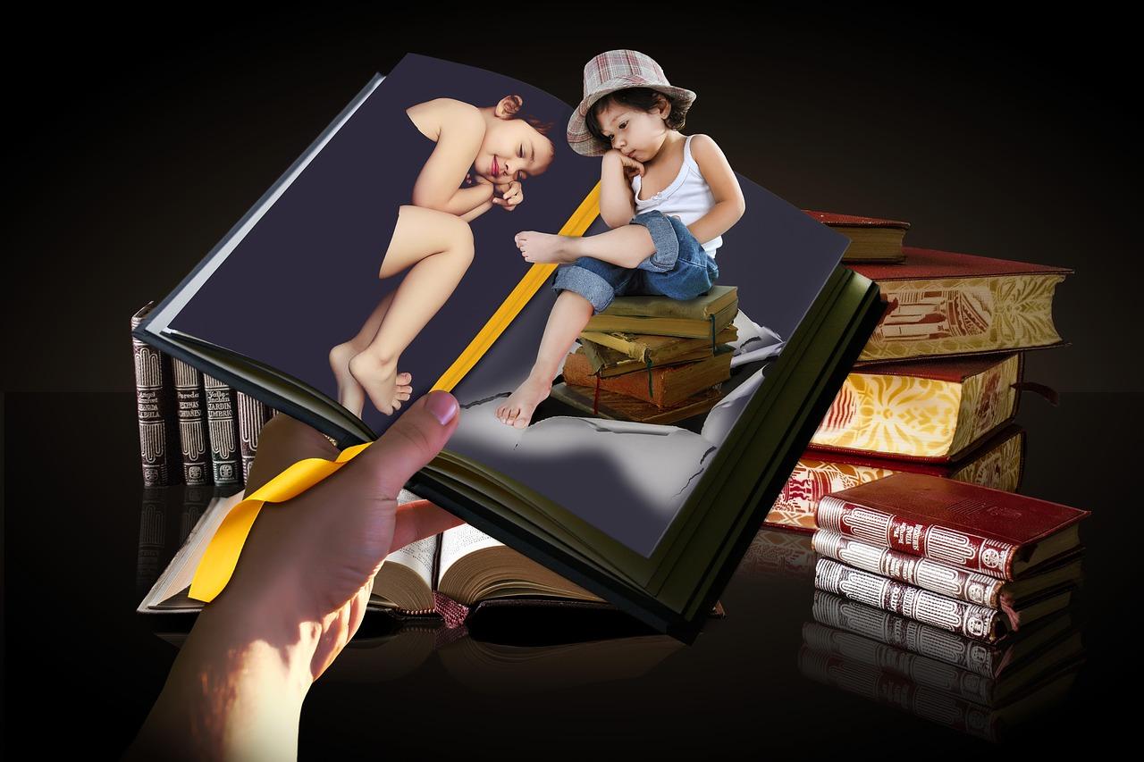Vizual animacije knjige